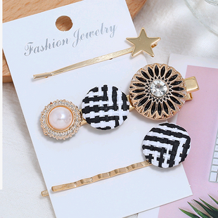 Korean new fashion simple three-piece combination hairpin yiwu nihaojewelry wholesale NHSC211277's discount tags