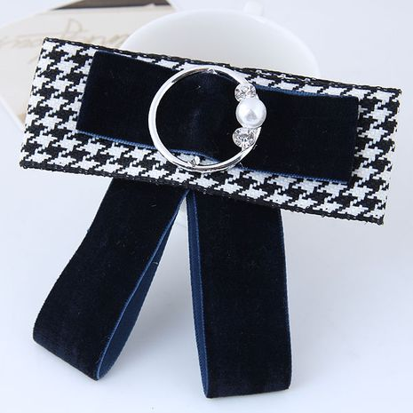 Wild bow simple circle accessories female collar brooch yiwu nihaojewelry wholesale NHSC211266's discount tags