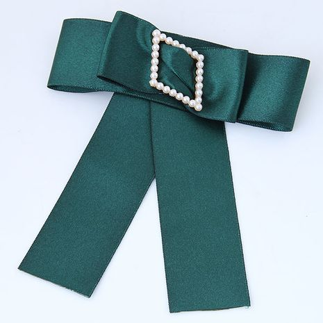 Wild big bow diamond pearl accessories female collar brooch yiwu nihaojewelry wholesale NHSC211264's discount tags