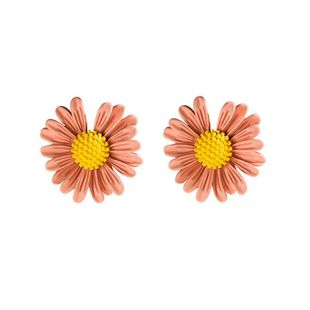 New Korean fashion simple flower earrings wholesale NHVA211248's discount tags