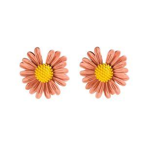 New Korean fashion simple flower earrings wholesale NHVA211248's discount tags