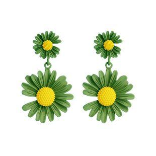 Korean new fashion new earrings cute sunflower flower earrings NHVA211256's discount tags