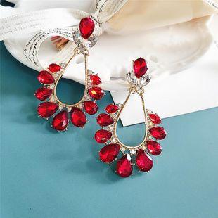 New fashion retro minimalist drop alloy earrings wholesale NHVA211257's discount tags