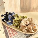 Korean new fashion retro fashion elegant small daisy mesh cheap scrunchies wholesale NHOF211375