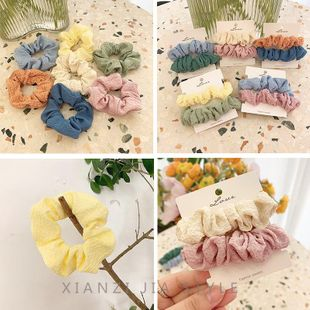 New fashion sweet and versatile cheap scrunchies wholesale NHOF211389's discount tags