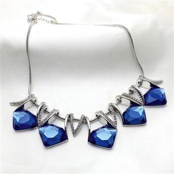 Nouveau collier de cristal de mode de haute qualité bijoux de mariée en gros NHLJ211416's discount tags