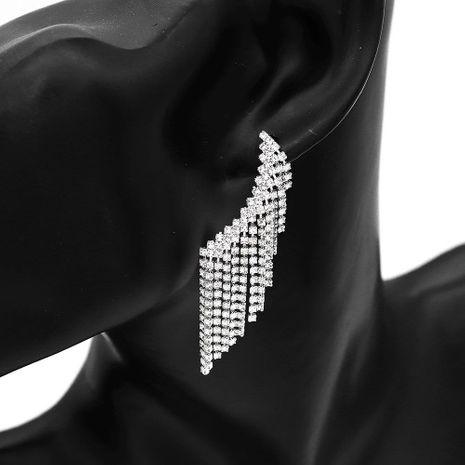 Nuevos pendientes de borla de alas de mariposa de moda al por mayor NHHS211428's discount tags