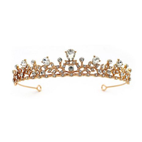 New fashion simple bride crown yiwu nihaojewelry wholesale NHHS211430's discount tags
