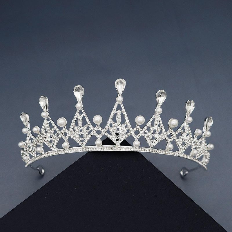 Baroque headdress bridal wedding jewelry crown wholesale NHHS211443