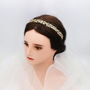 New fashion retro golden hair band wedding accessories wholesale NHHS211444