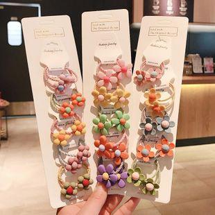 Korean new cute cartoon cheap scrunchies set wholesale NHDQ211451's discount tags