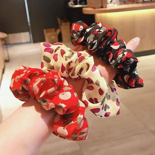 Simple new fashion retro cherry cheap scrunchies wholesale NHDQ211461's discount tags