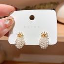 New fashion pineapple pearl earrings nihaojewelry wholesale NHXI211533