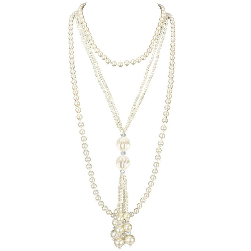 New fashion multilayer pearl necklace wholesale NHCT211618