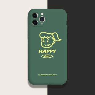 Liquid silicone mobile phone case Apple 11 iphonexs maxPhone Case wholesale NHKI211677's discount tags