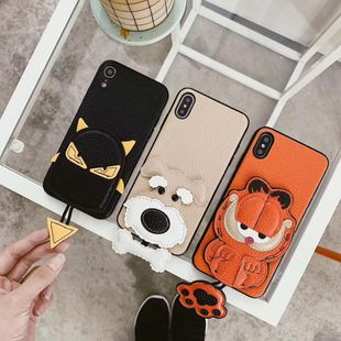 Fashion iphone 11 three-dimensional doll all-inclusive Apple mobile phone shell Apple Xr maxTPU soft shell protective cover Phone case wholesale NHKI211684's discount tags