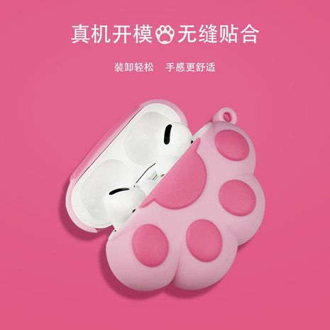 airpods pro apple silicone cartoon three generations of headphones protective sleeve wholesale NHKI211695's discount tags