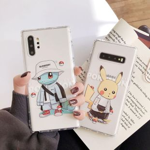 Samsung s10plus mobile phone case note10 drop-proof all-inclusive s8 / s9 Pikachu note8 Phone Case wholesale NHDV211719's discount tags