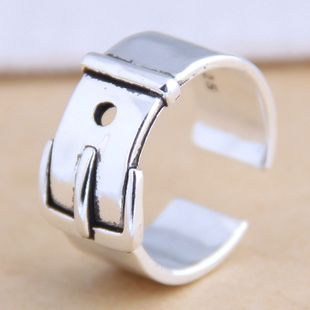 New fashion retro belt buckle open ring yiwu nihaojewelry wholesale NHSC212289's discount tags
