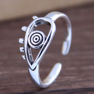 New fashion retro eyebrow open ring yiwu nihaojewelry wholesale NHSC212287's discount tags