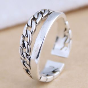 New fashion retro open ring yiwu nihaojewelry wholesale NHSC212285's discount tags