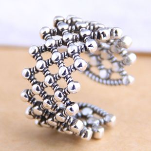 New fashion retro exaggerated open ring yiwu nihaojewelry wholesale NHSC212284's discount tags