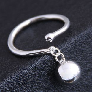 Korean new fashion sweet OL ball pendant open ring yiwu nihaojewelry wholesale NHSC212283's discount tags