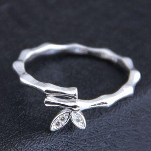 Korean new fashion sweet OL bamboo open ring yiwu nihaojewelry wholesale NHSC212281's discount tags