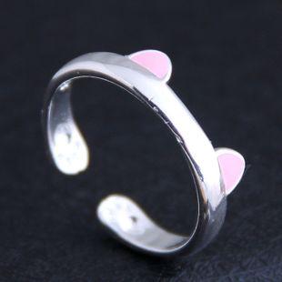 Korean new fashion sweet OL cat ear open ring yiwu nihaojewelry wholesale NHSC212277's discount tags