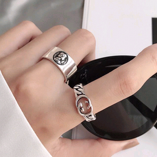 Fashion retro open ring nihaojewelry rings wholesale NHSC212312's discount tags