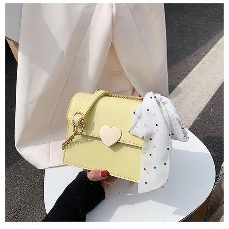 Nueva moda portátil simple bufanda de seda extranjera hombro cadena salvaje bolsa de mensajero NHTC212041's discount tags