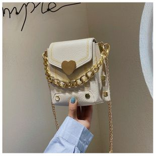 The new trendy wild fashion portable love shoulder bag wholesale NHTC212071's discount tags