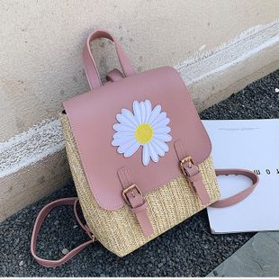 Summer new fashion portable backpack wholesale NHTC212074's discount tags