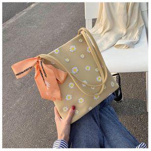 New trendy fashion Korean wild shoulder bag small Daisy simple handbag wholesale NHTC212078's discount tags