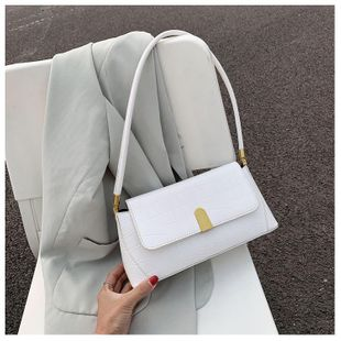 New trendy fashion single shoulder armpit bag wild messenger bag wholesale NHTC212079's discount tags