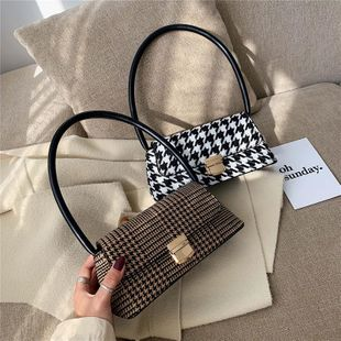 New Korean fashion simple handbag shoulder bag wholesale NHPB212107's discount tags