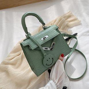 New fashion wild crocodile pattern mini smiley shoulder shoulder bag wholesale NHPB212239's discount tags