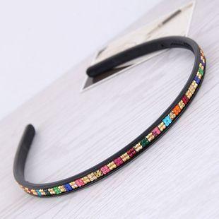 Korea's new delicate colored diamond headband yiwu nihaojewelry wholesale NHSC212261's discount tags