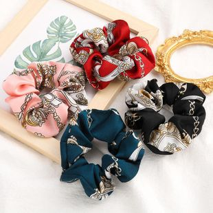 New fashion retro fabric cheap scrunchies wholesale NHJE212378's discount tags