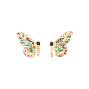 New fashion micro studded butterfly earrings for women for women NHPY212413's discount tags