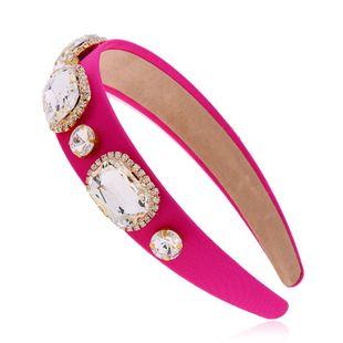 New fashion wide-breasted rhinestone cheap headband wholesale NHVA212425's discount tags