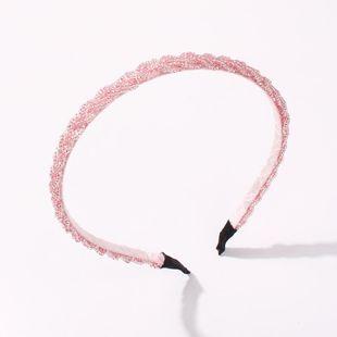 Korean new style crystal hairband fashion Mizhu cheap hairband wholesale NHMD212448's discount tags