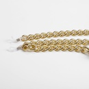 Fashion jewelry thick chain accessories imitation pearl tassel pendant geometric glasses chain wholesale Nihaojewelry NHXR211850