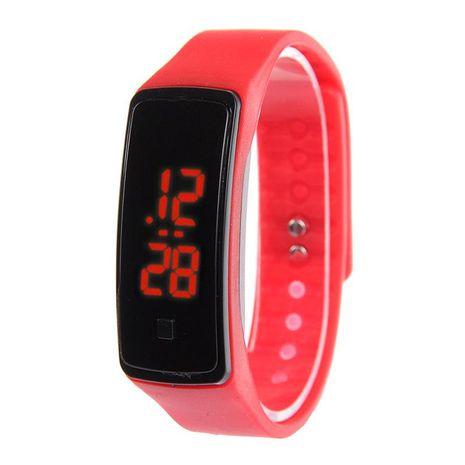 Reloj de pulsera de pantalla táctil LED caliente reloj de pulsera deportivo de silicona de moda luminosa para hombres y mujeres estudiantes NHSS211910's discount tags