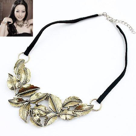New fashion retro metal bohemian leather rope necklace nihaojewelry wholesale NHSC212698's discount tags