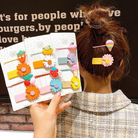 Nueva horquilla hembra coreana linda margarita palabra clip niña lado clip niños fruta bb clip horquilla NHSA212550's discount tags