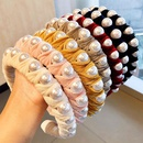 New fashion thickening winding pearl cheap headband wholesale NHNA212577