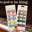 Frosted candy color word clip simple cheap hairpin set wholesale NHNA212610