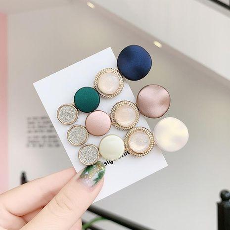 Coreano simple nueva ronda horquilla barata al por mayor NHNA212645's discount tags