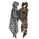 New fashion sexy leopard floating towel cheap scrunchies wholesale NHJE212685